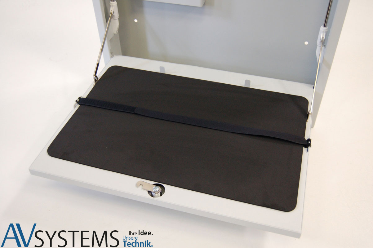 Laptopbox Deluxe Mossgummiauflage
